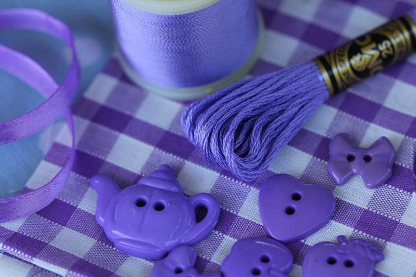 Jacaranda purple -Lilibet Stanley
