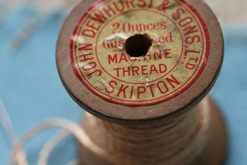 vintage thread -Lilibet Stanley