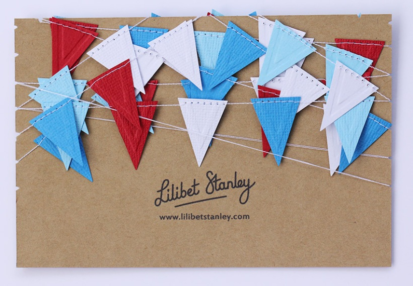 red white and blue triangle bunting1-Lilibet Stanley
