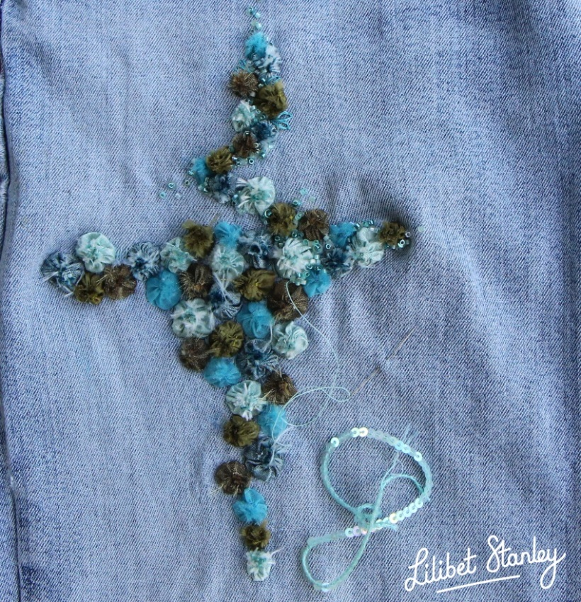 Jeans repair8 - Lilibet Stanley